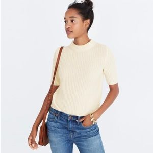 Madewell 100% Cashmere Crop Sweater